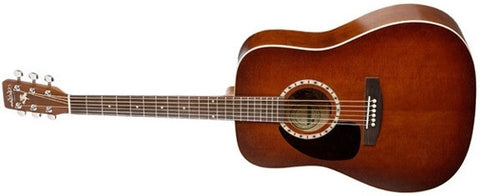 Art & Lutherie Dreadnaught Cedar Antique Burst Left Acoustic Guitar 026364 - L.A. Music - Canada's Favourite Music Store!