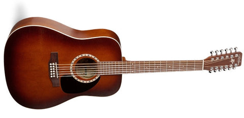 Art & Lutherie 12 Cedar Antique Burst Acoustic Guitar 026548
