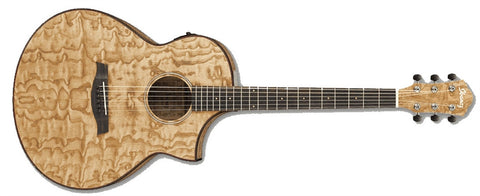 Ibanez AEW40ASNT Acoustic Electric Guitar Natural High Gloss - L.A. Music - Canada's Favourite Music Store!