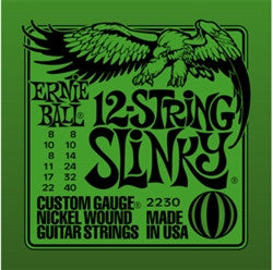 Ernie Ball 12-String Slinky Green EBP02230 - L.A. Music - Canada's Favourite Music Store!