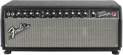 Fender Super Bassman, 120V, Black 2249000000