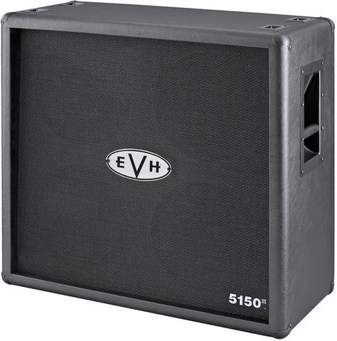 EVH 5150III 4x12 412 Straight Cabinet, Black 2252100000 - L.A. Music - Canada's Favourite Music Store!