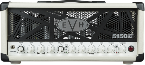 EVH 5150III 50W 50 WATT 6L6 GUITAR AMPLIFIER Head IN Ivory