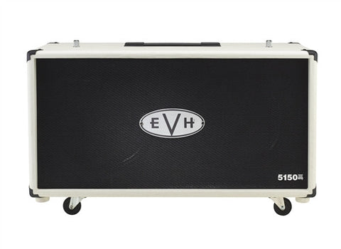 EVH 5150III 2X12 212 Cabinet Ivory 2253101410 - L.A. Music - Canada's Favourite Music Store!
