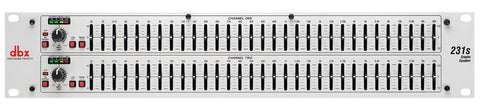 DBX 231S Dual Channel 31-Band Graphic Equalizer - L.A. Music - Canada's Favourite Music Store!