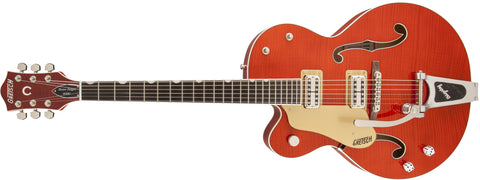 Gretsch G6120SSU-LH Brian Setzer Nashville with Bigsby, Left-Handed, TV Jones Setzer Pickups, Tiger Flame Maple 2400126812 - L.A. Music - Canada's Favourite Music Store!