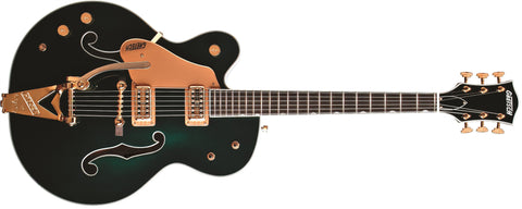 Gretsch G6196TLH Country Club, Left-Handed, Ebony Fingerboard, Cadillac Green, with Bigsby 2401026846 - L.A. Music - Canada's Favourite Music Store!