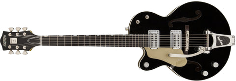 Gretsch G6118TLH-LTV 130th Anniversary Jr Left-Handed, Black, Ebony Fingerboard, with Case 2401032800 - L.A. Music - Canada's Favourite Music Store!