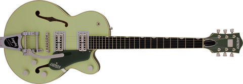 Copy of Gretsch G6659T Players Edition Broadkaster® Jr. Center Block Single-Cut with String-Thru Bigsby® Two-Tone Smoke Green