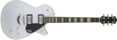 Cream City Music Gretsch G6229 Players Edition Jet BT with V-Stoptail Silver Sparkle