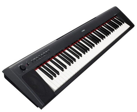 Yamaha NP31 - 76 Key Mid-Level Piaggero Ultra-Portable Digital Piano