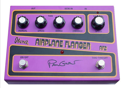 Ibanez AF2 Paul Gilbert Signature Airplane Flanger Guitar Effects Pedal - L.A. Music - Canada's Favourite Music Store!