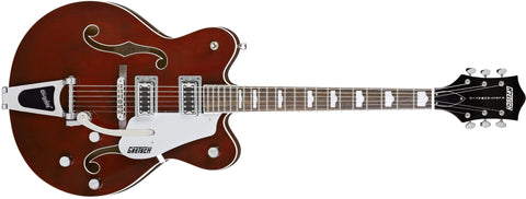 Gretsch G5422TDC Electromatic Double Cutaway Hollow Body with Bigsby, Rosewood Fingerboard, Walnut Stain 2504812517 - L.A. Music - Canada's Favourite Music Store!