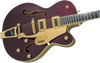 GRETSCH G5420TG Electromatic® 135th Anniversary LIMITED EDITION Hollow Body Single-Cut with Bigsby® Compressed Ebony Fingerboard Two-Tone Dark Cherry Metallic/Casino Gold