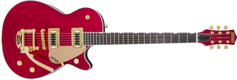 GRETSCH G5435TG Limited Edition Electromatic® Pro Jet™ with Bigsby® and Gold Hardware Candy Apple Red