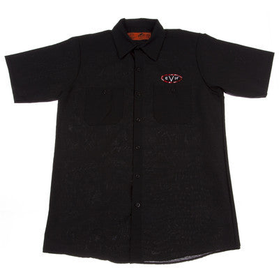 EVH Woven Shirt Black Extra Large 9122015606 - L.A. Music - Canada's Favourite Music Store!