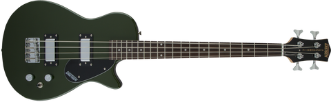 "Gretsch G2220 Electromatic Junior Jet Bass II Short-Scale Rosewood Fingerboard 30.3"" Scale in Torino Green"