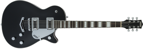 "GRETSCH G5220 Electromatic® Jet™ BT Single-Cut with ""V"" Stoptail Black Walnut Fingerboard Black"