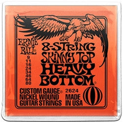 Ernie Ball 8-String Skinny Top Heavy Bottom Slinky EBP02624 - L.A. Music - Canada's Favourite Music Store!