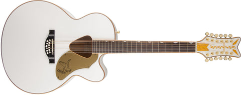 Gretsch G5022CWFE-12 Rancher Falcon Jumbo 12-String Cutaway Electric, Rosewood Fingerboard, White 2714025505 - L.A. Music - Canada's Favourite Music Store!