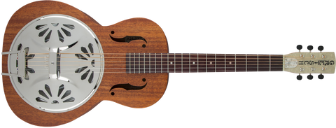 Gretsch G9200 Boxcar Round-Neck Resonator Guitar, Rosewood Fingerboard, Natural 2715013521