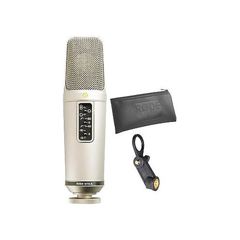 Demo Rode Microphones Studio Selections NT2-A
