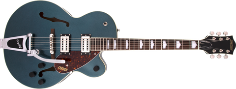 Copy of Gretsch G2420T Streamliner Hollow Body with Bigsby Broad'Tron BT-2S Pickups Gunmetal