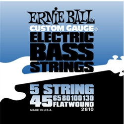 Ernie Ball Flatwound Bass 5-String 45-130 EBP02810 - L.A. Music - Canada's Favourite Music Store!