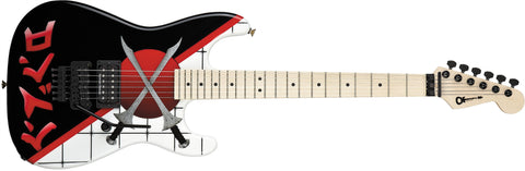 Charvel Warren DeMartini Signature San Dimas, Maple Fingerboard, Cross Swords 2869169000 - L.A. Music - Canada's Favourite Music Store!