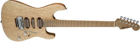 Charvel Guthrie Govan Signature Bird's Eye Maple, Maple Fingerboard, Natural Top with Walnut Stain Back and Sides 2869302000 - L.A. Music - Canada's Favourite Music Store!