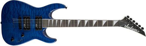 Jackson JS32TQ Dinky, DKA, Rosewood Fingerboard, Quilted Maple, Transparent Blue 2910127586 - L.A. Music - Canada's Favourite Music Store!