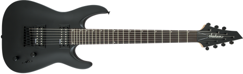 Jackson JS22-7 Dinky, Rosewood Fingerboard, Fixed Bridge, Satin Black 2910131576
