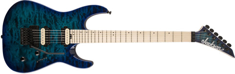 Jackson Pro Dinky DK2QM, Maple Fingerboard, Chlorine Burst 2914105521 - L.A. Music - Canada's Favourite Music Store!