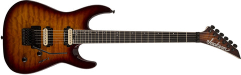 Jackson Pro Dinky DK2Q, Ebony Fingerboard, Tobacco Burst 2914105593 - L.A. Music - Canada's Favourite Music Store!