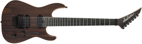 Jackson Pro Series Dinky DK7 Ebony Fingerboard in Natural Rosewood