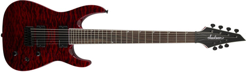 Jackson SLATHXSDQ 3-7 Soloist, Rosewood Fingerboard, Transparent Red 2916172503 - L.A. Music - Canada's Favourite Music Store!