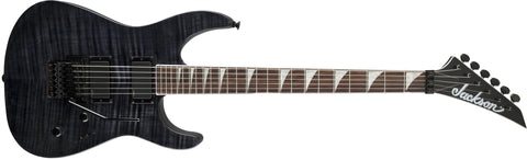 Jackson SLXFMG Soloist, Rosewood Fingerboard, Transparent Black 2916341585 - L.A. Music - Canada's Favourite Music Store!