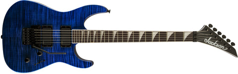 Jackson SLXFMG Soloist, Rosewood Fingerboard, Transparent Blue 2916341586 - L.A. Music - Canada's Favourite Music Store!