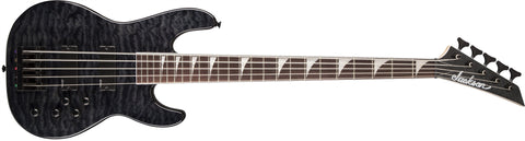 Jackson JS3VQM Concert Bass, Rosewood Fingerboard, Transparent Black 2919020585 - L.A. Music - Canada's Favourite Music Store!