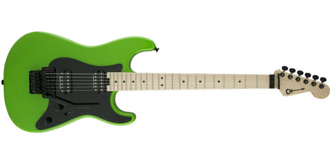 Charvel Pro-Mod So-Cal Style 1 HH, Maple Fingerboard, Slime Green 2967000525