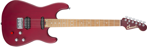 Charvel Limited Edition Justin Aufdemkampe Signature Pro-Mod SD24 Caramelized Maple Fingerboard Trans Red LAST ONE