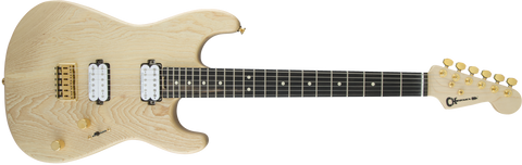 CHARVEL Pro-Mod San Dimas® Style 1 HH HARD TAIL Aged Ebony Fingerboard IN Natural Ash