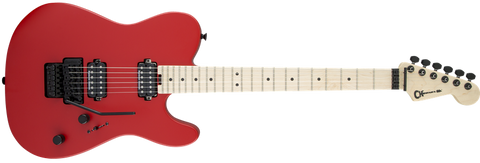 Charvel Pro Mod San Dimas Style 2 FR HH Floyd Rose Satin Red