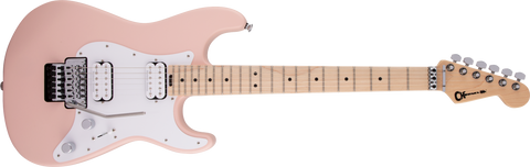 Charvel  Pro-Mod So-Cal Style 1 HH FR M Maple Fingerboard Satin Shell Pink 2966031519