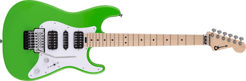 Charvel  Pro Mod So Cal Style 1 HSH FR M Maple Fingerboard Slime Green 2966034525