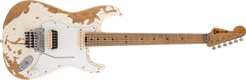 Charvel Henrik Danhage Limited Edition Signature Pro-Mod So-Cal Style 1 White Relic 2966035555