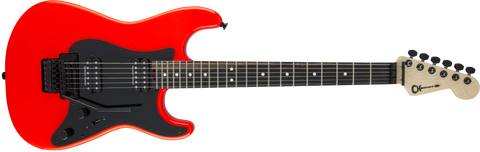 Charvel Pro-Mod So-Cal Style 1 HH FR Ebony Fingerboard in Rocket Red