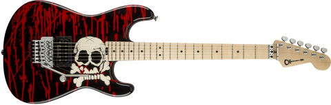 Charvel Pro Mod San Dimas Warren DeMartini Signature BLOOD AND SKULLS 2969171590