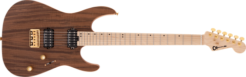 Charvel Pro-Mod DK24 HH HT M Mahogany with Figured Walnut Maple Fingerboard Natural 2969471557