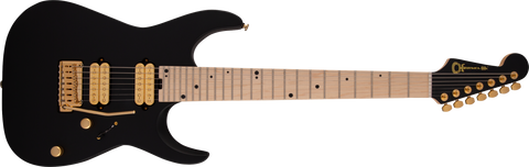 Charvel Angel Vivaldi Signature DK24-7 Nova Maple Fingerboard Satin Black 2979411568